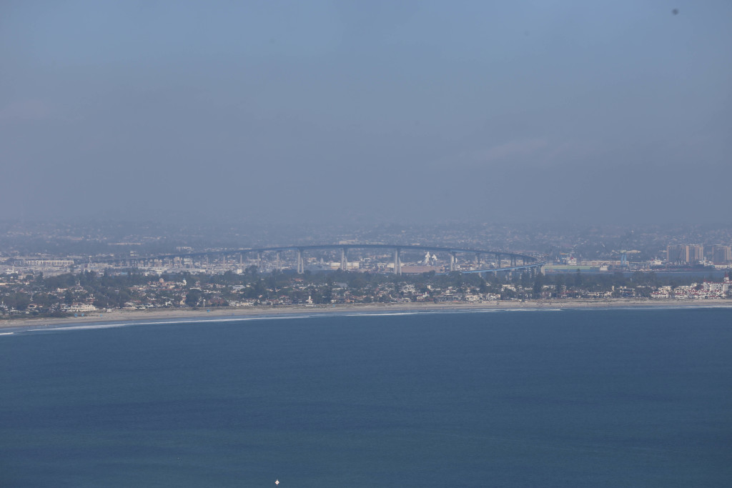 View of Coronado from Cabrillo National Monument (in afternoon)