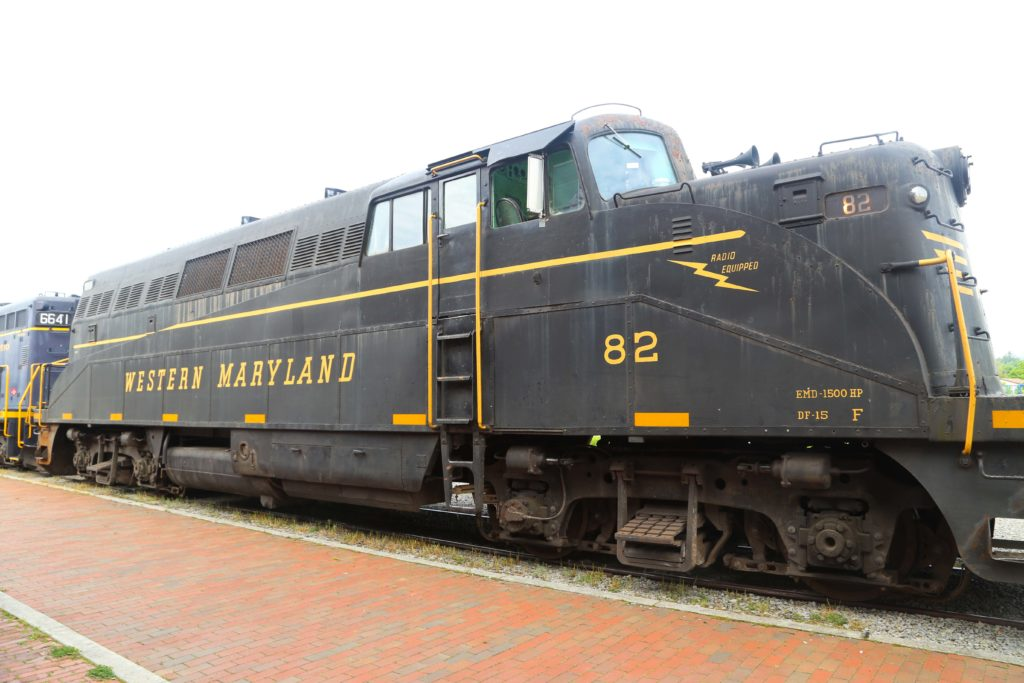 Cheat Mountain Salamander locomotive