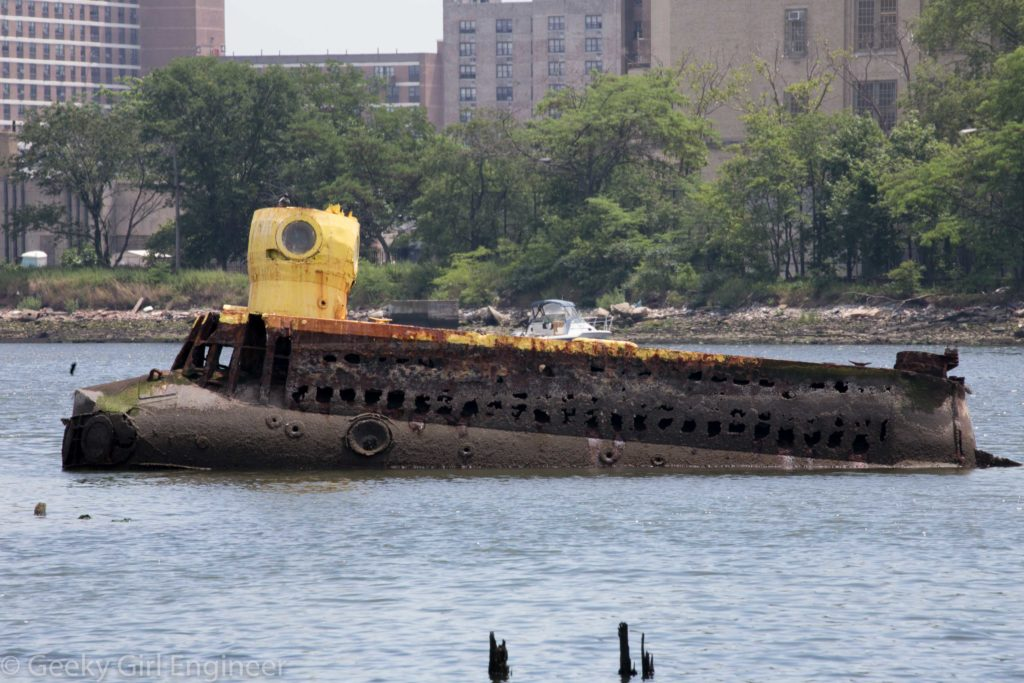 Famous yellow submarine