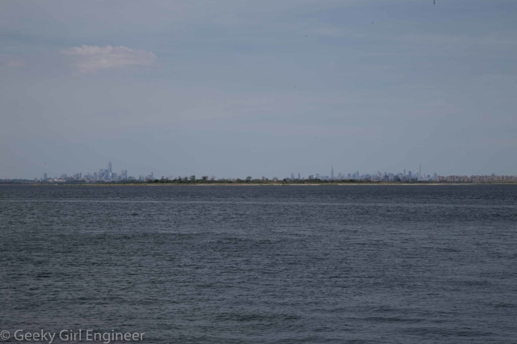 View from bay side of Rockaway