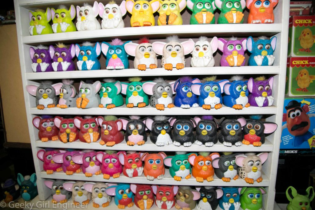 All types of Furby's