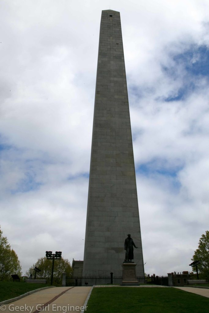 Bunker Hill Monument, which I climbed, for reasons