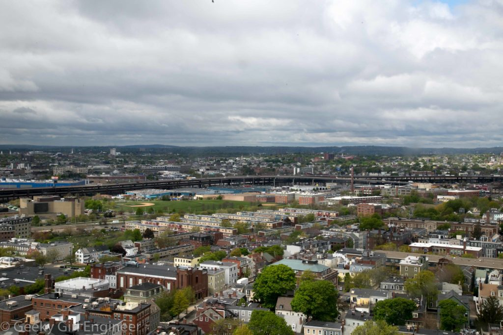 View towards Somerville