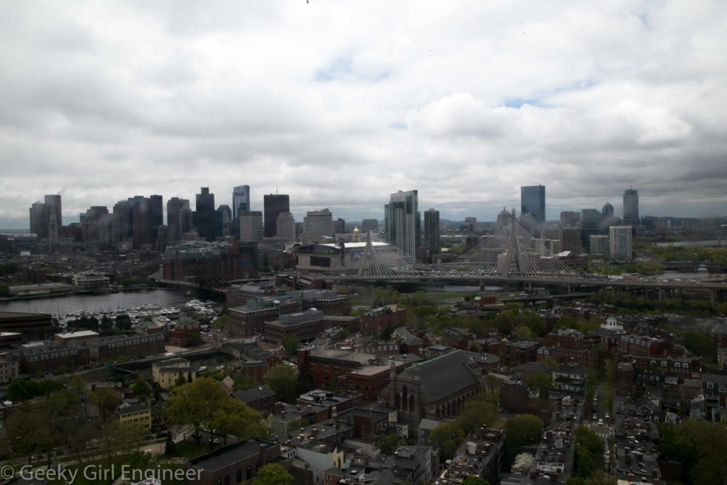 View of downtown Boston