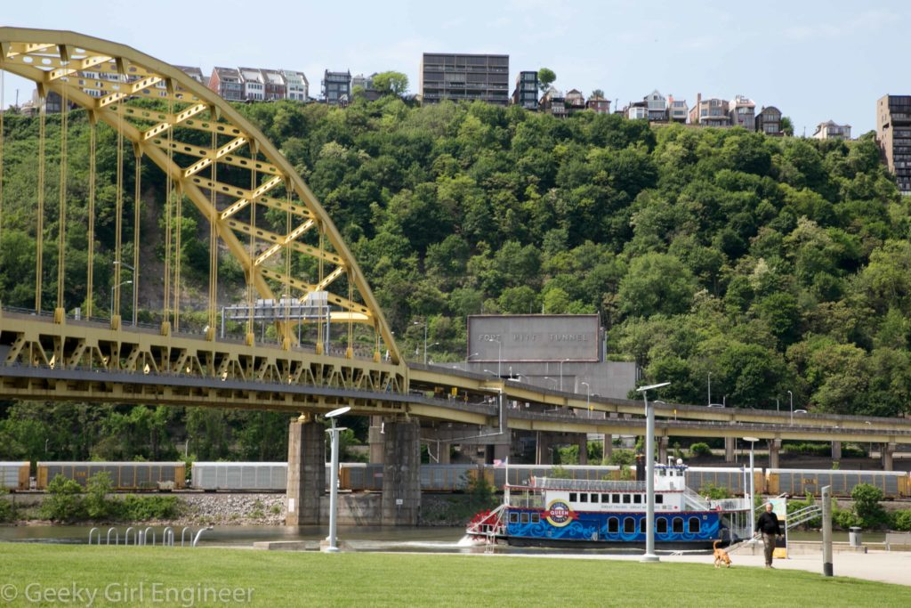 Fort Pitt Bridge over Monongahela River