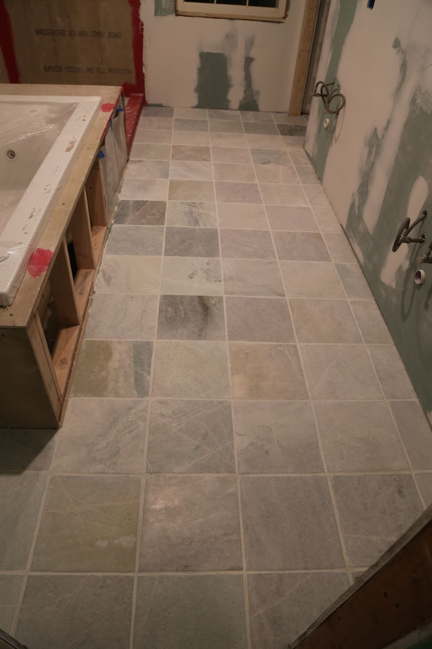 How To Grout Bathroom Tile